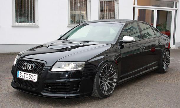 Breitbau an Audi A6