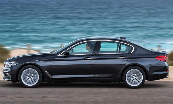 Neuer BMW 5er: Erste Fahrt