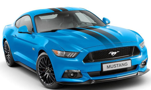 Ford Mustang Black Shadow Edition (2017)