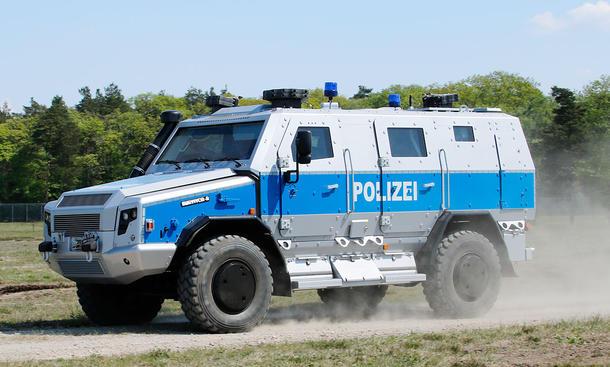 Man Rheinmetall Survivor R Erste Fahrt Bild 3