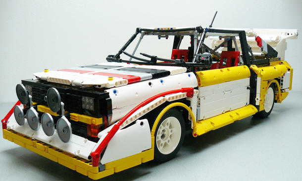 audi sport quattro s1 lego nachbau. Black Bedroom Furniture Sets. Home Design Ideas