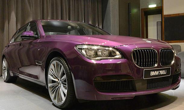 BMW 760Li: Tuning von Abu Dhabi Motors