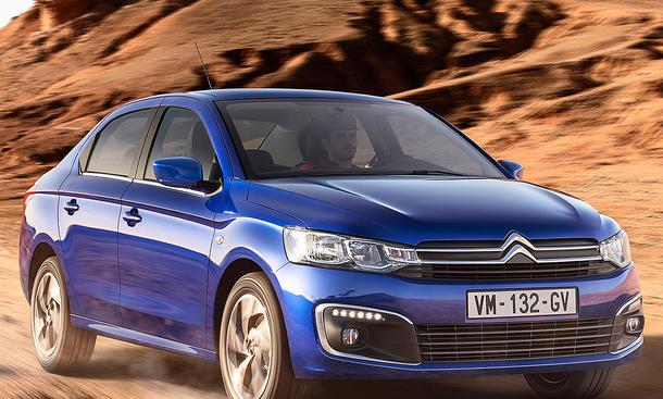 Citroën C'Elysée Facelift (2017)