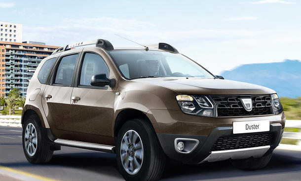 Dacia Duster Facelift (2013)