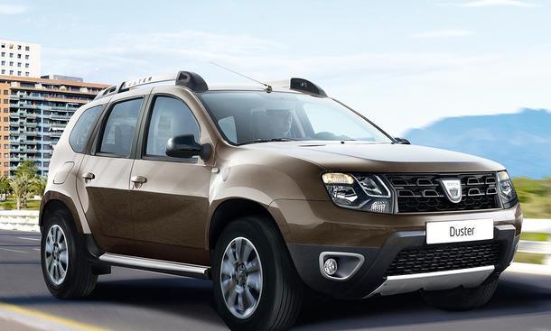 Dacia Duster Facelift (2013)