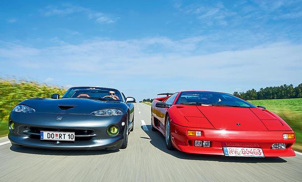 Lamborghini Diablo/Dodge Viper RT/10