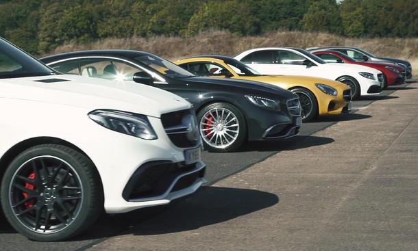 Mercedes-AMG: Dragrace-Video