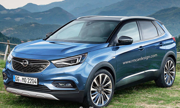 opel grandland x 2017 erste fotos update. Black Bedroom Furniture Sets. Home Design Ideas