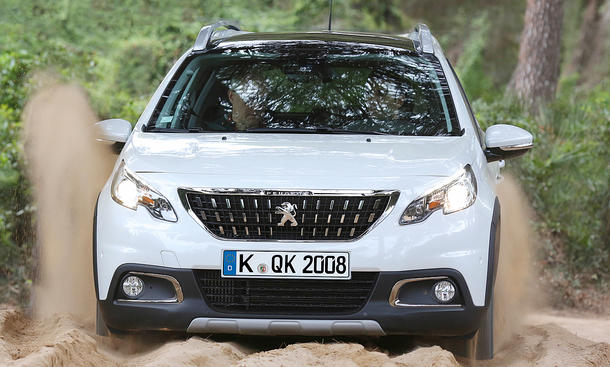 Peugeot 2008 Facelift (2017)