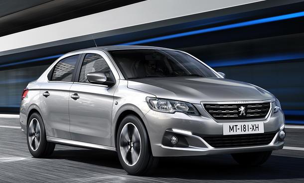 Peugeot 301 Facelift (2017)