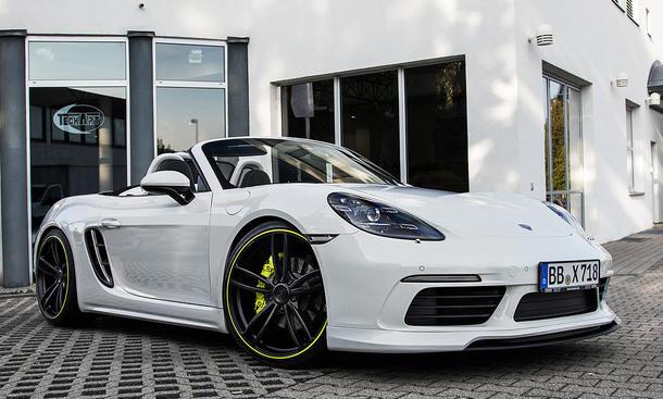 Techart Porsche 718: Essen Motor Show 2016