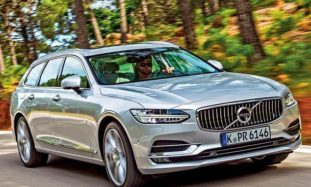 Volvo V90 D4 Test Autozeitung De