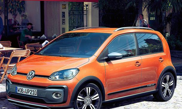 VW Cross Up Facelift (2016)