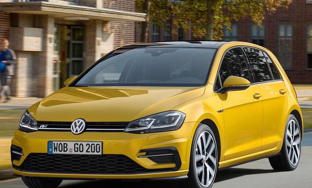 VW Golf 7 Facelift