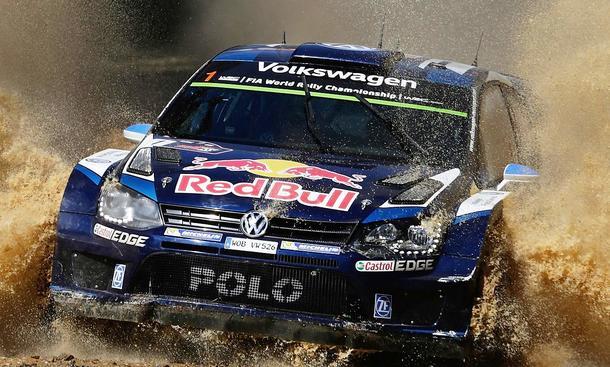 VW vor Rallye-Aus