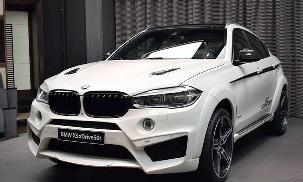 BMW X6: Tuning von Abu Dhabi Motors