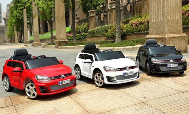 """VW Golf GTI als elektrisches """"Bobbycar"""""""