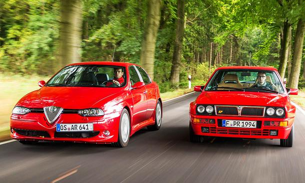 156 GTA vs. Delta Integrale