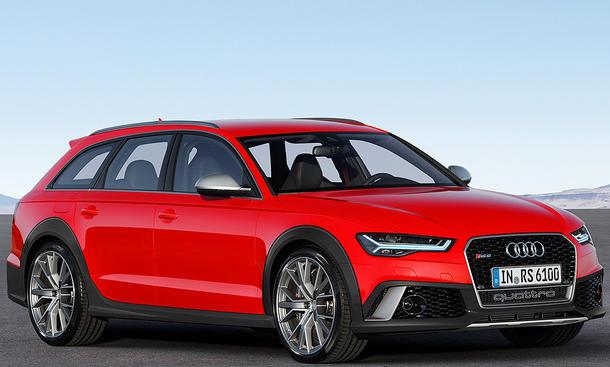 Audi Rs 6 Allroad 2017 Illustration Autozeitung De