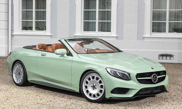 mercedes s klasse cabrio tuning von carlsson. Black Bedroom Furniture Sets. Home Design Ideas