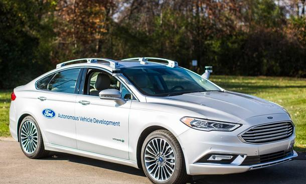 Ford: Autonomes Fahren bis 2021