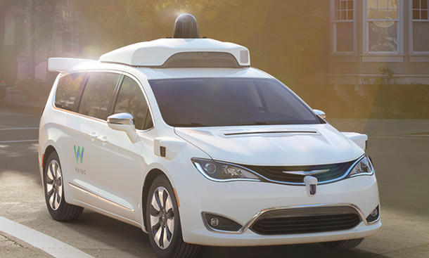 Google Auto Waymo Chrysler Pacifica