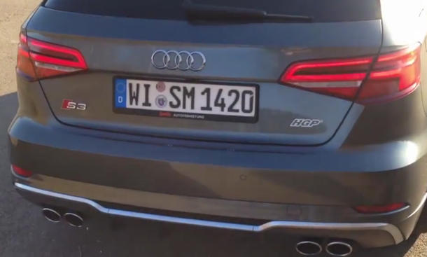 HGP Audi S3: Tuning-Video