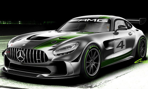 mercedes amg gt r gt4 2017 erste informationen. Black Bedroom Furniture Sets. Home Design Ideas