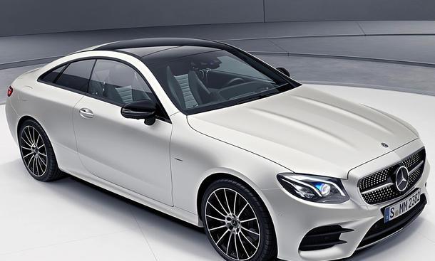 Mercedes E-Klasse Coupé Edition 1: Sondermodell | autozeitung.de
