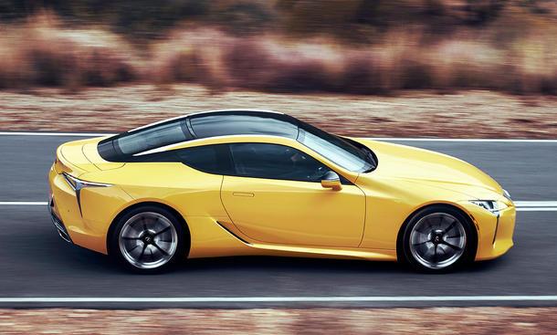 Neuer Lexus LC: Erste Fahrt