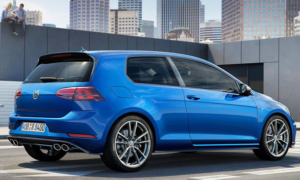 vw golf 7 r facelift 2017 preis fotos. Black Bedroom Furniture Sets. Home Design Ideas
