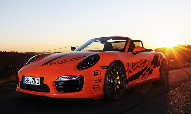 Wimmer Porsche 911 Turbo S Cabrio