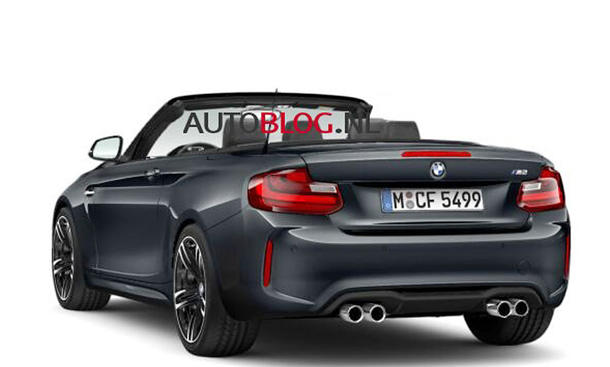 bmw m2 cabrio 2017 ger cht bild 5. Black Bedroom Furniture Sets. Home Design Ideas