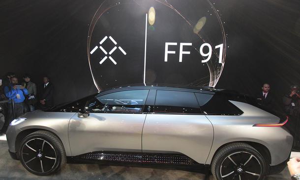 Faraday Future FF91: CES 2017