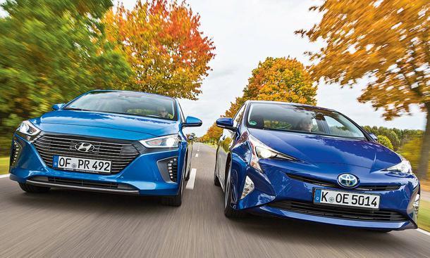 Hyundai Ioniq/Toyota Prius