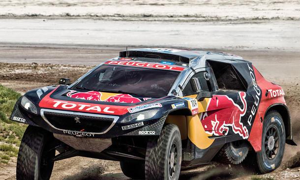 Peugeot 3008 DKR: Dakar 2017