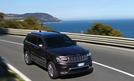 Jeep Grand Cherokee 3.0 V6 Multijet Test Bilder 2014 technische Daten Front LED-Tagfahrlichter