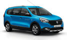 Dacia Lodgy Stepway 2014 Paris Crossover Transporter Van