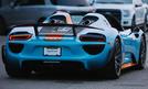 Porsche 918 Spyder im Gulf-Design